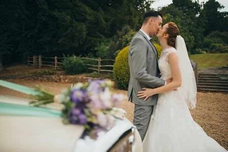 Tom and Jo { The Moat, Wrotham }