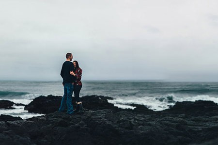 Kelli & Brandon { Iceland portrait shoot }