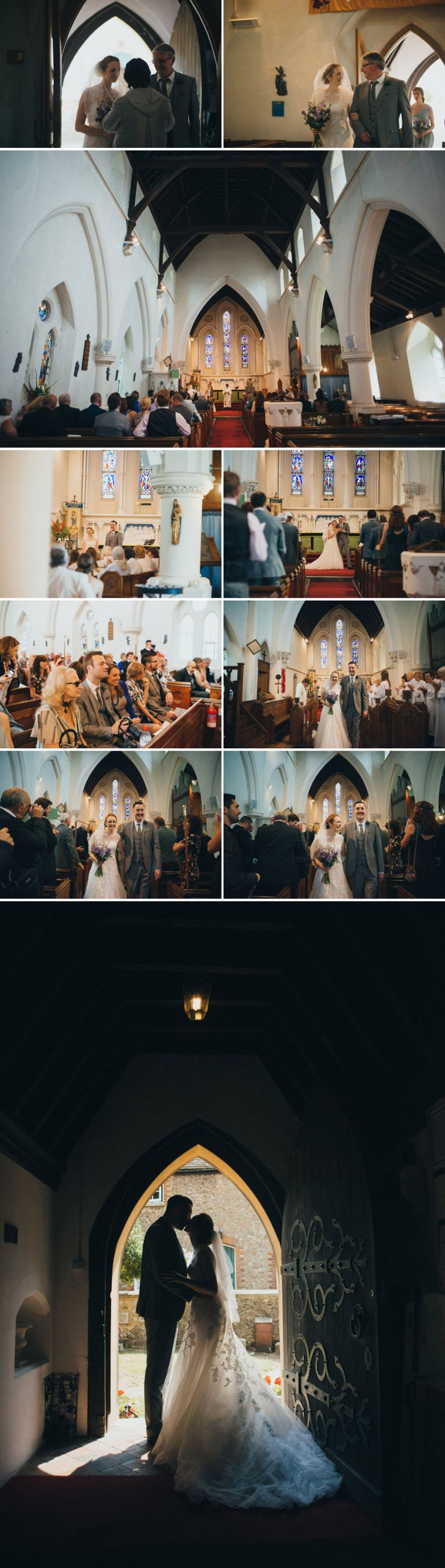A wedding at holy trinity church larkfield, followed by a reception at the moat in wrotham
