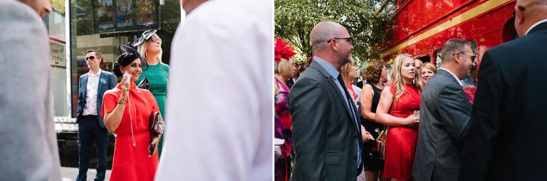 wedding photography at st barts brewary london